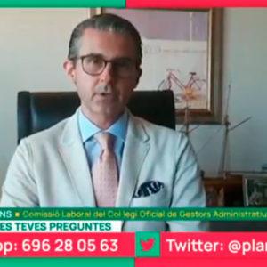 Resolviendo dudas sobre las ayudas a autónomos en Planta Baixa de Tv3
